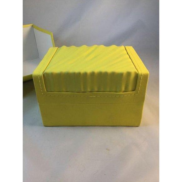 Invicta Yellow Classic Wave Empty Watch Box Case W